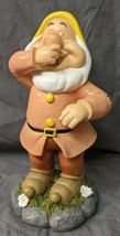 "Brand New Disney Snow White Dwarf SNEEZY Resin 7"" Garden Statue Figurine - $19.99"