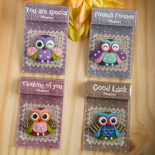 96 Sentimental Wise Owl Magnets from Gifts By Fashioncraft