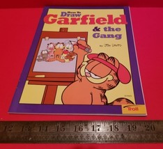 Garfield Activity Book How To Draw Gang Cartoon Comic Strip Troll 1996 B... - $4.74