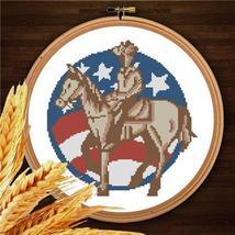 Cowboys 002 western cross stitch chart Pinoy Stitch - $7.00