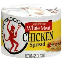 Underwood Chicken Spread Made with White Meat 4.25 oz ( Pack of 24 ) - $59.15