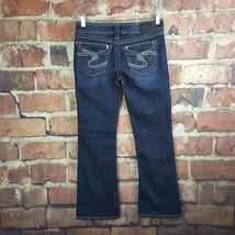 Silver Suki Surplus Womens Boot Cut Jeans Size 28 Flap Pockets Dark Wash - $42.56