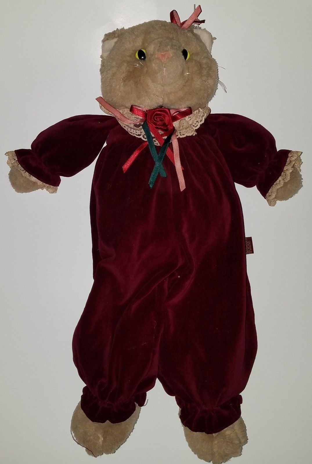 Teddy Bear Plush Toy Nat /& Jules NWT Soft Book Story Time Puppets Teddy Bear