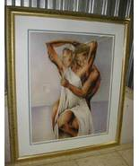 "Jeff Hall Silky Smooth Love framed Art Print 26""x31"" - $179.99"
