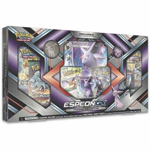 Pokemon Espeon GX Premium Collection Box Sun & Moon Guardians Rising TCG