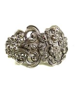 1980's Art Nouveau Lady Belt Buckle By ACCESSOCRAFT NYC 52317 - $24.74