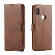 "Leather Case Xiaomi Redmi Note 5 Cover Flip Wallet Phone Xaomi Pro 5.99"" Global - $18.84"