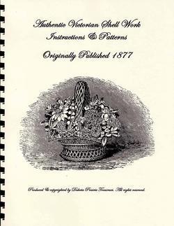 1877 Victorian Shell Work Book Make Ornaments Making DIY Ornies Orny Handmade