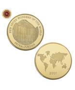 WR Petra - Jordan New Seven Wonders 24K Gold Coin Commemorative Medal Co... - €4,27 EUR