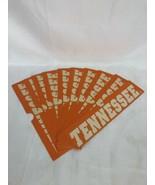 Lot of 10 Bookmarks University of Tennessee Volunteers Go Big Orange 9X2   - $7.70