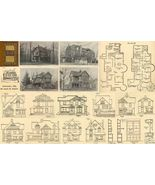 1889 Antique Victorian Houses Architect House Floor Plans CD DIY Home Ca... - $14.99