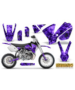CREATORX GRAPHICS KIT FOR KTM SX65 SX 65 2002-2008 STICKERS INFERNO PURPLE - $104.76