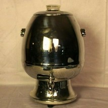 Vintage Hamilton Beach Chrome Coffee Percolator Urn Model 21 CM w/ origi... - $34.92