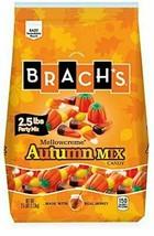 New Brach's Mellowcreme Autumn Mix Candy Corn 2.5 L Bs. Halloween Expedited Ship - $19.24