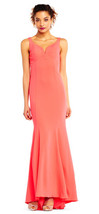 Adrianna Papell Sleeveless Mermaid Dress with Cutout Back - $79.19+