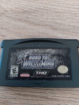 Nintendo Game Boy Advance GBA WWF Road To Wrestle Mania image 2