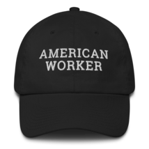 American worker hat / American worker Cotton Cap / American worker / labor day  image 1