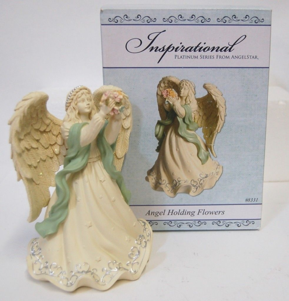 Inspirational Platium AngelStar Angel 8331 Heavenly Company Collection