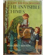 Judy Bolton #3 THE INVISIBLE CHIMES Margaret Sutton HCDJ mystery 1956 ed... - $9.99
