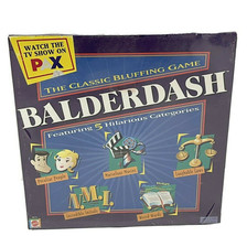 Balderdash Classic Bluffing Board Game Mattel, 2003, Brand New Factory S... - $29.99