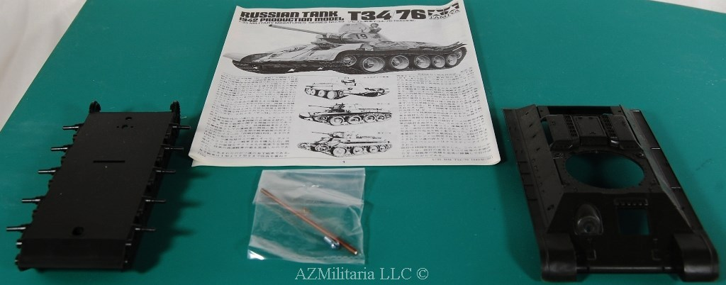 1/35 T34/76 Russian Tank 1942 Production ModelKit No MM149 Series No. 49