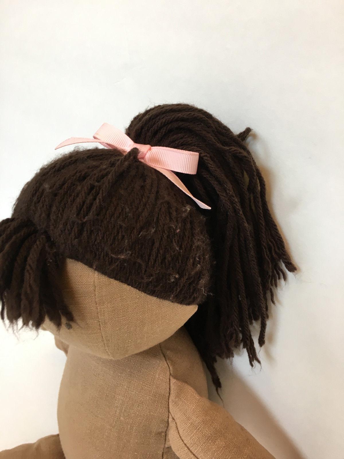 L16 Pottery Barn Kids Erin Doll African American Plush