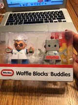 Little Tikes Waffle Blocks Buddies Scientist Robot Ships N 24h - $11.86