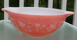 Vintage Pink Pyrex Gooseberry Large 4 Qt Bowl - $47.50