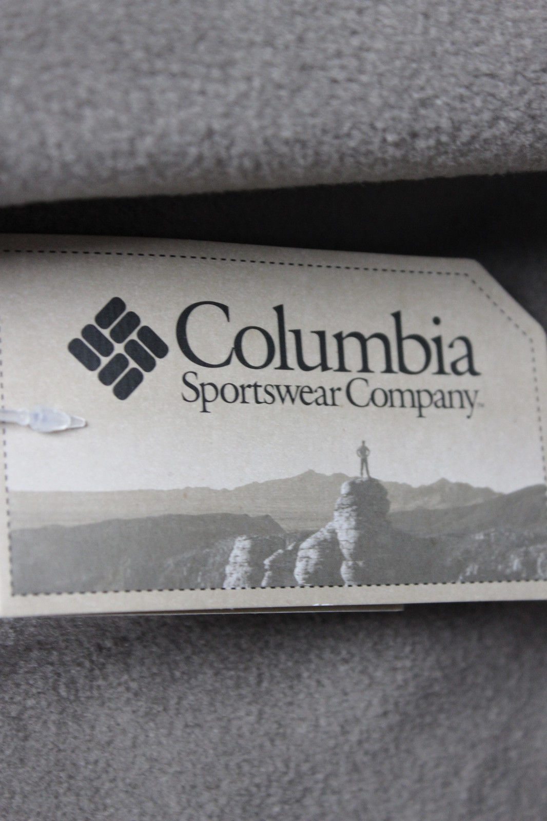 NWT Columbia Flattop Mountain Fleece Jacket MENS XL Tan Polyester