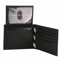 Tommy Hilfiger Men's Leather Credit Card Id Passcase Wallet Billfold 31TL22X019 image 9