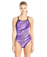 Adidas Women's Shock Energy Vortex Back Performance One Piece Swimsuit 2... - $49.95