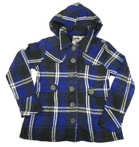 Junior Women's Cotton Hoodie Jacket Ultra Marine Blue (L 11/13)