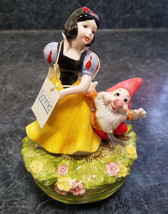 Vintage Schmid Snow White Music Box - Some Day My Prince Will Come (circ... - $31.50