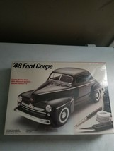 Vintage 1987 Testors '48 Ford Coupe Model Scale 1/25 Factory Sealed - $39.59