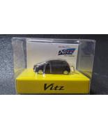 TOYOTA Vitz  Yaris LED Light Keychain Black Pull Back Mini Car - €19,03 EUR