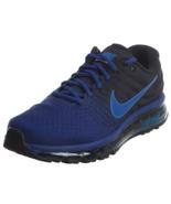 Nike Mens Air Max 2017 Running Shoes 849559 401 NEW deep royal hyper cob... - $89.99
