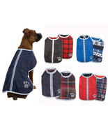 CLOSEOUT PRICES Noreaster Reversible Blanket Dog Coat Jacket CHECK SIZIN... - $11.95+
