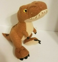 "Mattel Jurassic World T-Rex Dinosaur Soft Plush Stuffed Animal Doll Toy 12"" - $9.70"