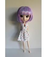 Blythe Dal Byul Pullip Momoko Jenny SizeHandmade Doll Dress Colorful Sta... - $18.97
