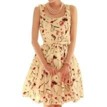Royal Print Chiffon Women Mini Dress - $21.58