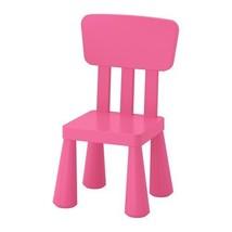 Ikea Children's chair, indoor/outdoor, pink - $39.99