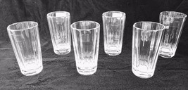 RALPH LAUREN HOME CRYSTAL CELESTE HIGHBALL GLASS SET OF SIX NWT $690 - $403.17