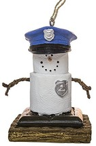 MIDWEST-CBK S'Mores Policeman Christmas/Everyday Ornament - $9.99