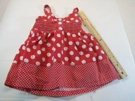 Girls 18 month Summer Shirt Sleeveless Strap Halter top red dress KIDGET... - $7.08