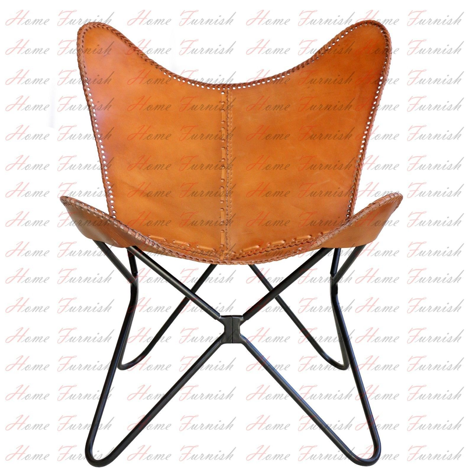 Handmade Leather Chair AA Butterfly Chair Genuine Leather Chairs Butterfly