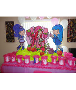 Birthday Decoration Strawberry Shortcake - 3 ft Photo Prop - $64.99
