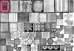 1914 Art Neuveau Crochet Book Bedspreads Patterns Bedspread Counterpane DIY