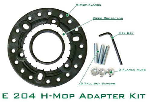 Square Shower Hot Mop FHA Drain Adapter E204