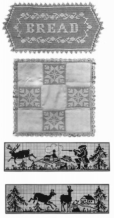 1915 Titanic Crochet Book Patterns Motifs Lace Edges Laces DIY Reenactment Art