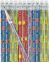 Anti-Bullying Pencils  (24 Pack) Wood.  - $8.54